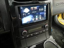 c6 corvette stereo upgrade android 7 tablet install in a c6 corvetteforum chevrolet