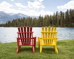Yellow Plastic Adirondack Chair Sofa Alluring Adirondack Chairs Lake White Plastic Adirondack
