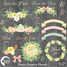 Shabby Chic Wedding Shower by Wedding Clipart Rustic Wedding Clipart Bridal Shower Clipart
