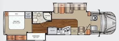 Motorhome Floor Plans Dynamax Dx3 Floor Plan Png