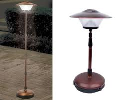 outdoor patio table lights awesome outdoor patio table ls 3 diy solar powered inside floor