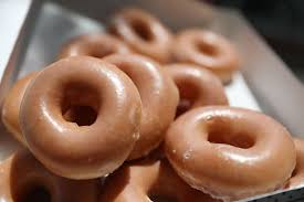 this friday you can get a dozen krispy kreme doughnuts for under