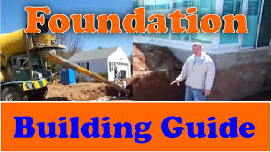 types of foundations for homes how to build a foundation from start to finish youtube