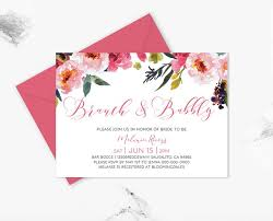 bridal shower invitations brunch bridal shower invitations