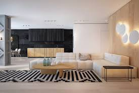 Black And White Zig Zag Rug Black White And Wooden Two Masterclass Houses Of Up To Date