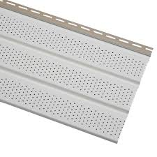 cellwood economy triple 4 in white vented vinyl soffit evs12p04h