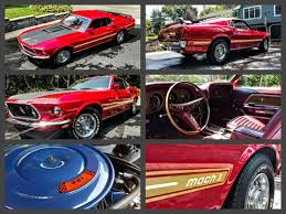 ford mustang mach 2 for sale 1969 ford mustang mach 1 for sale 351w 2 owners build sheets