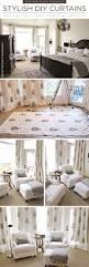 stylish diy curtains using the sari paisley stencil stencil stories