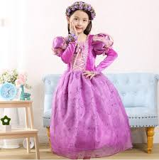 Rapunzel Halloween Costumes Compare Prices Princess Rapunzel Costume Shopping Buy