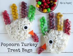 turkey bags popcorn turkey treat bags is poppin