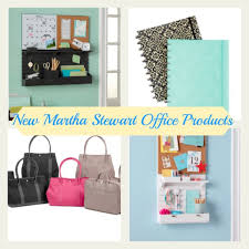 Martha Stewart Desk Accessories Getting Organized With Products From Martha Stewart Office Momtrends