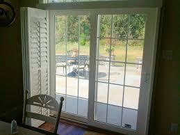 Sliding Patio Door Reviews by Venetian Blinds Sliding Glass Doors Plantation Shutters For