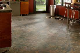 attractive types of flooring for kitchen types of flooring for