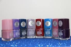 new polishes l a color nail polish haul walmart youtube