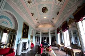 Stately Home Interiors Kenwood House Which Houses Masterpieces By Rembrandt And Vermeer