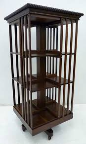 Danner Revolving Bookcase Antique Revolving Bookcase Antique Miniature Desktop Oak Revolving