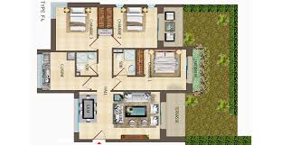 plan appartement 3 chambres plan 3 chambres salon prestigia luxury homes immobilier de