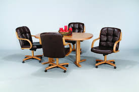 Dining Room Chairs Casters Dining Chairs Casters