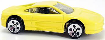 ferrari yellow and black ferrari 355 65mm 1995 wheels newsletter