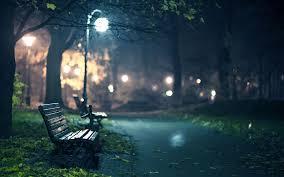 romantic park bench evening 6997911