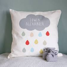 Gifts For A New Home Personalised Cloud Name Cushion By Modo Creative