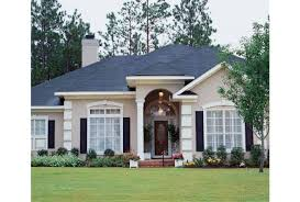Mediterranean House Plans With Photos Eplans Mediterranean House Plan Stately Interior Columns 2241