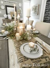 how to decorate a dining room table dining table decorating best home design ideas sondos me