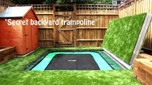 most amazing trampolines ever secret trampoline youtube