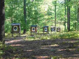build backyard archery range design idea and decorations