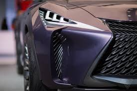 lexus ux suv concept paris the lexus ux concept looks like it will chew you up and spit you