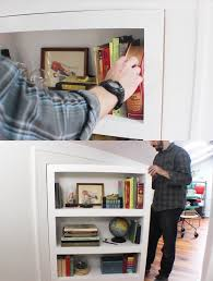 Bookcase With Lock 20 Secret Doors And Clever Hiding Places Make