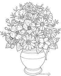 coloriage fleur à colorier dessin à imprimer coloriage