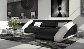 canap en simili cuir canapé d angle design moderne tissu et simili cuir melker gdegdesign