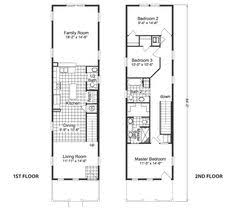 narrow house plans small house plans this unit is about the same size but