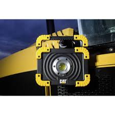 cat 324122 rechargeable led work light led work light adjustable cat rechargeable from conrad com