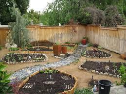 Rock Vegetable Garden River Rock Garden Decor References