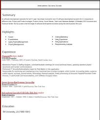 Business Analyst Roles And Responsibilities Resume Phenomenal Business Resume Format 16 Resume 2016 Resume Example