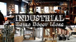 5 industrial home décor ideas youtube