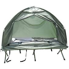 Cabana Tent Walmart by Outsunny Pop Up Tent Cot With Air Mattress And Sleeping Bag Combo