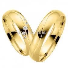 wedding rings gold aliexpress buy vogue fashion jewelry yellow gold plating