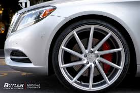 tires for mercedes mercedes s class with 22in vossen cvt wheels exclusively from