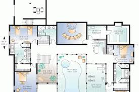luxury house plans with indoor pool 43 house floor plans with indoor pool swimming pool plans images