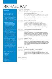 Media Resume Sample by Social Media Specialist Resume Samples Visualcv Resume Samples