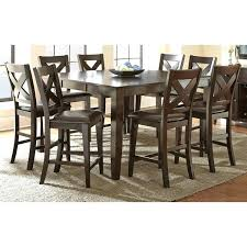 counter height dining table with leaf pub height dining set counter height dining set with self storing