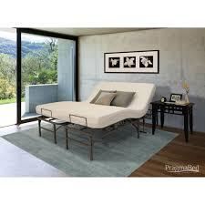 Bed Frame Foot Pragmatic Adjustable Bed Frame And Foot Split King Gray