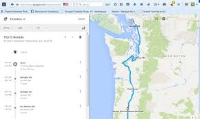 Google Timeline Maps Tracking Your Trips With Google Timeline Ace U0027s Forgotten Places