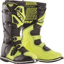 leather motocross boots fly racing 2016 maverik mx boots hi vis available at motocross giant