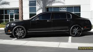 black bentley 2016 flying spur savini wheels