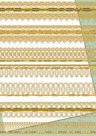 gold lace ribbon digital border gold lace clipart digital scrapbook wedding