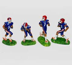 aquatic creations florida gators football players aquarium ornament